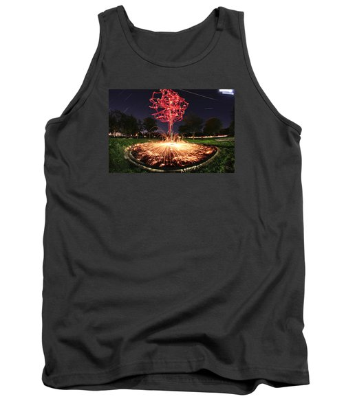 Drone Tree 1 Tank Top by Andrew Nourse