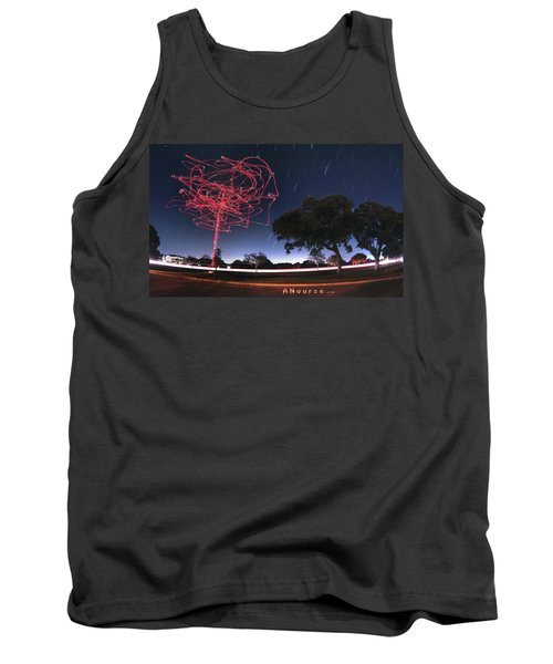 Drone Tree Tank Top by Andrew Nourse