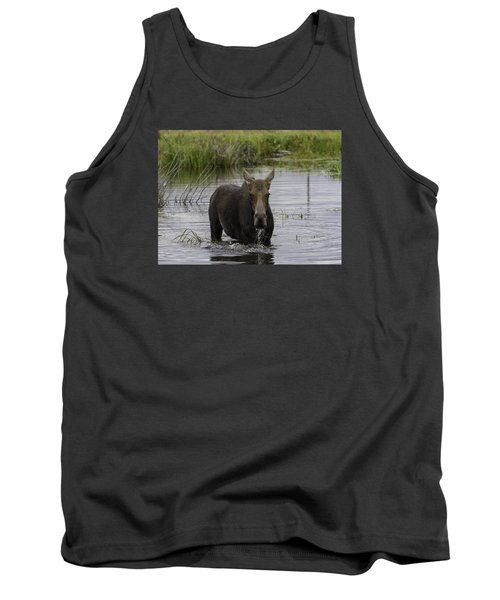 Drooling Cow Moose Tank Top