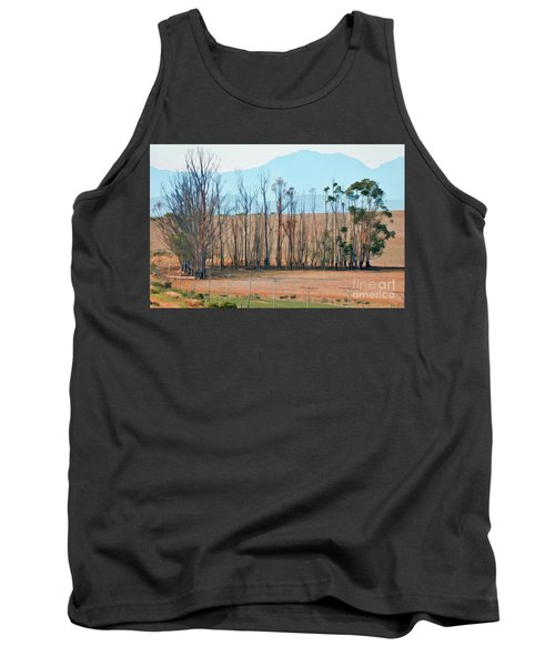 Drought-stricken South African Farmlands - 3 Of 3 Tank Top
