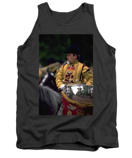 Drum Horse At Trooping The Colour Tank Top