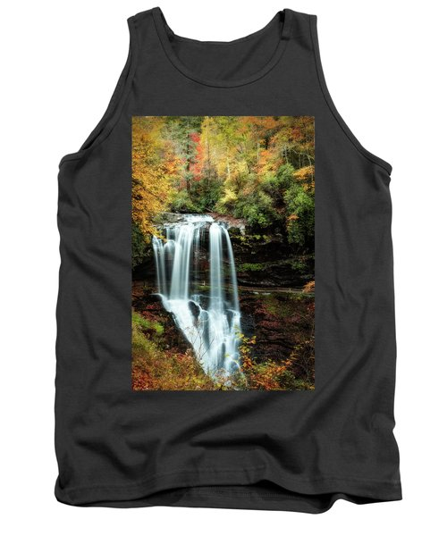 Dry Falls Autumn Splendor Tank Top by Deborah Scannell