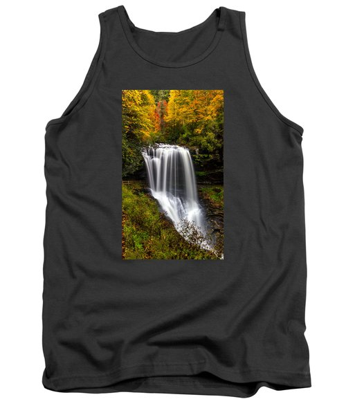 Dry Falls In October  Tank Top