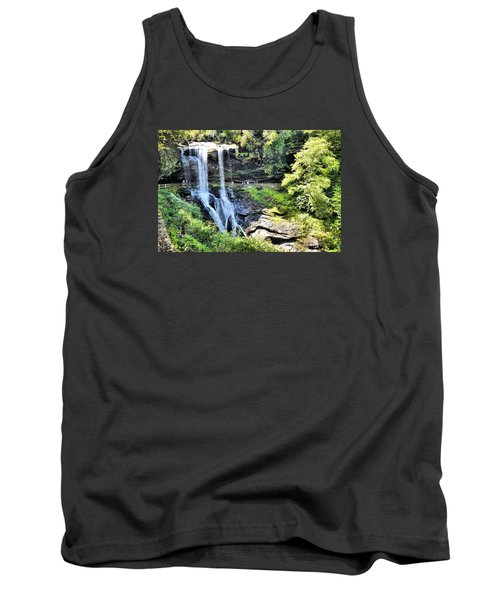 Dry Falls Of Appalachia Tank Top by James Potts