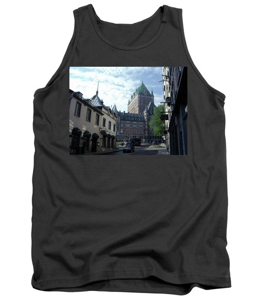 Tank Top featuring the photograph du Fort Chateau Frontenac by John Schneider