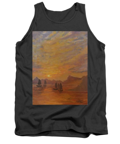 Tank Top featuring the painting Dubrovnik by Julie Todd-Cundiff