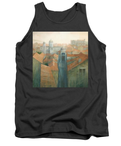 Dubrovnik Rooftops Tank Top by Steve Mitchell