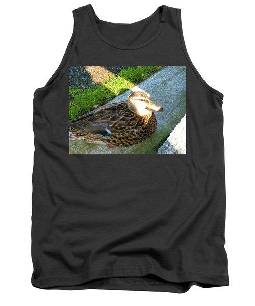 Duck Melanie Tweed In  The Sun Tank Top
