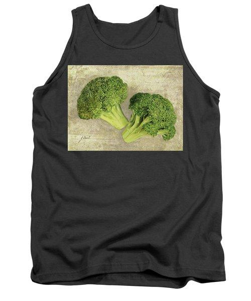 Due Broccoletti Tank Top by Guido Borelli