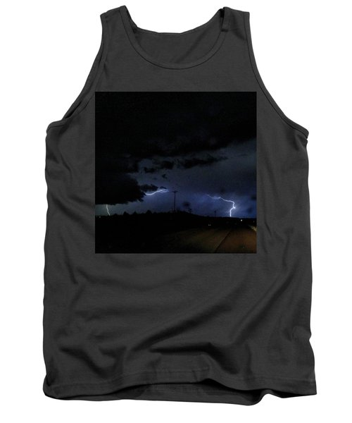 Dueling Lightning Bolts Tank Top