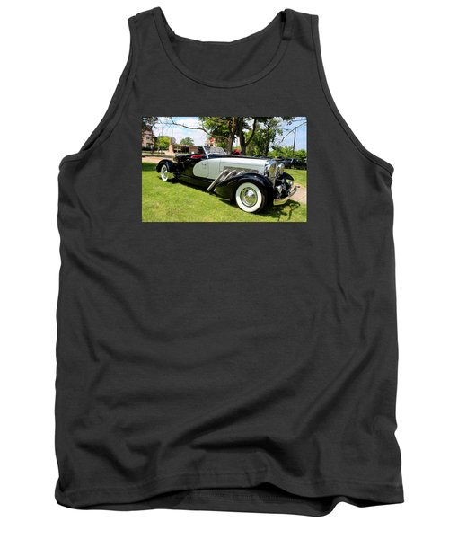 Tank Top featuring the photograph Duesenberg Vii by Michiale Schneider