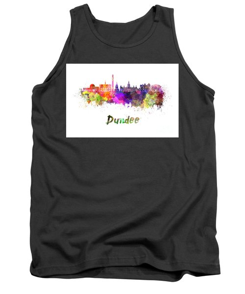 Dundee Skyline In Watercolor Tank Top
