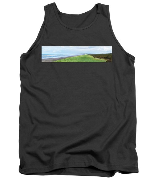 Dune At Fort Stevens Tank Top by Angi Parks