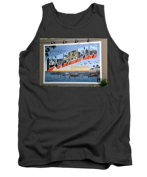 Dunedin Florida Post Card Tank Top