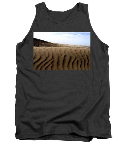 Dunes Of Alaska Tank Top by Anthony Jones