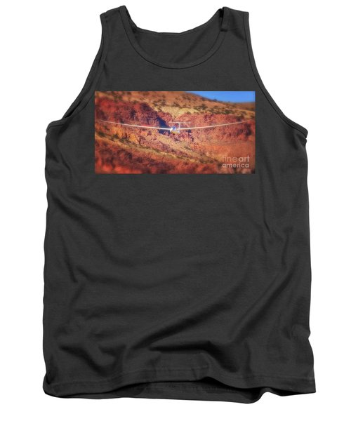 Duo Discus Over Red Rocks Tank Top
