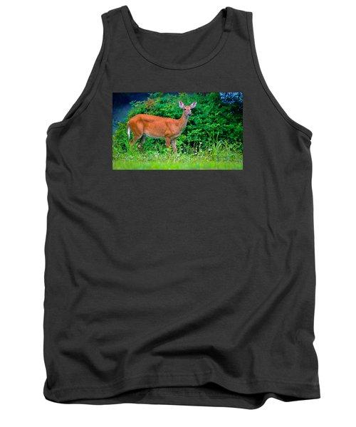 Dusk Deer Tank Top