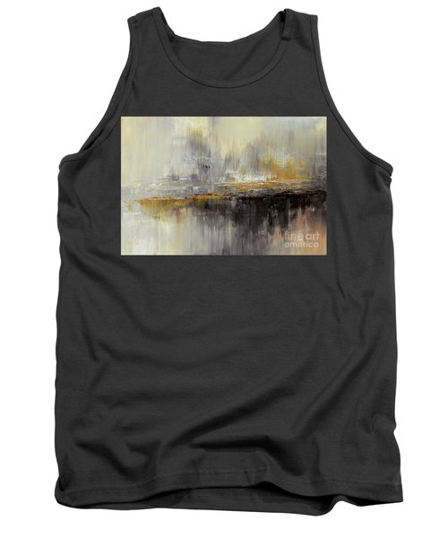 Tank Top featuring the painting Dusty Mirage by Tatiana Iliina