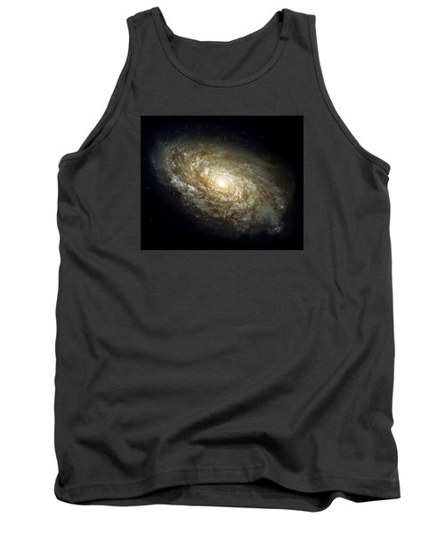 Dusty Spiral Galaxy  Tank Top by Hubble Space Telescope