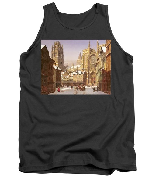 Dutch Cathedral Town Tank Top