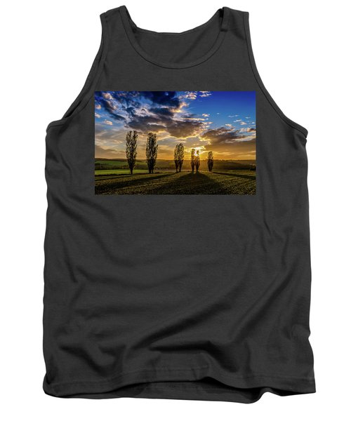 Dutch Moutains At Sunset Tank Top by Rainer Kersten