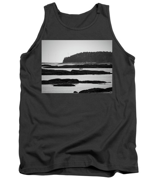 Dwon East Maine  Tank Top by Trace Kittrell