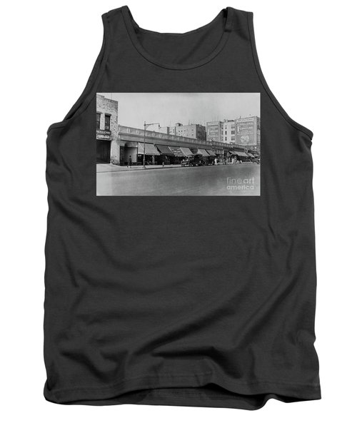 Tank Top featuring the photograph Dyckman Street, 1927 by Cole Thompson