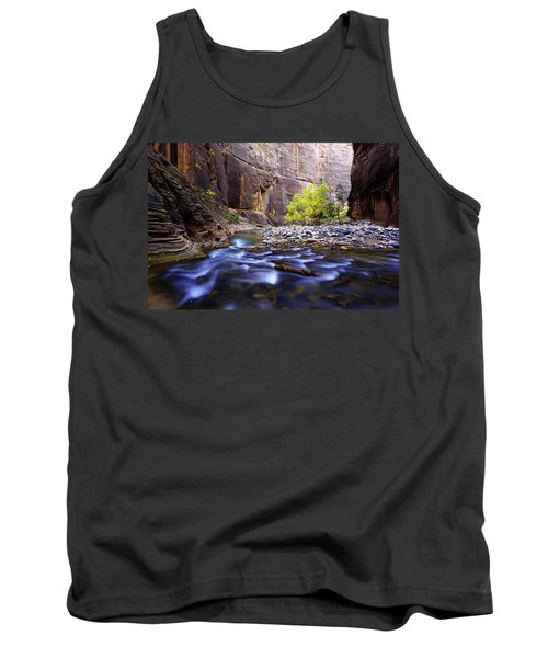 Tank Top featuring the photograph Dynamic Zion by Chad Dutson