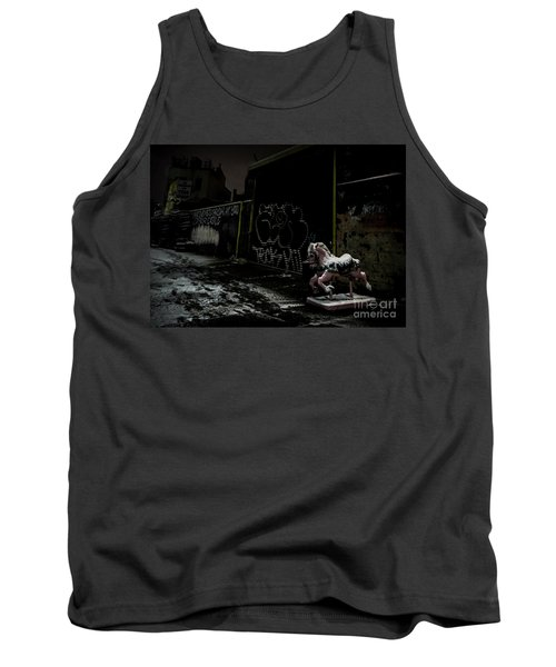 Dystopian Playground 1 Tank Top by James Aiken