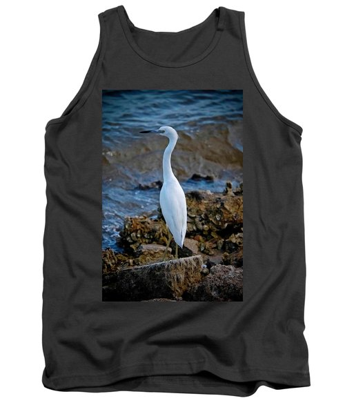 Eager Egret Tank Top