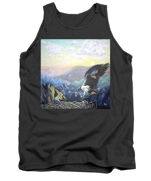Eagle At Home Tank Top