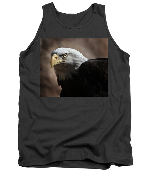 Tank Top featuring the photograph Eagle Eyed by Marie Leslie