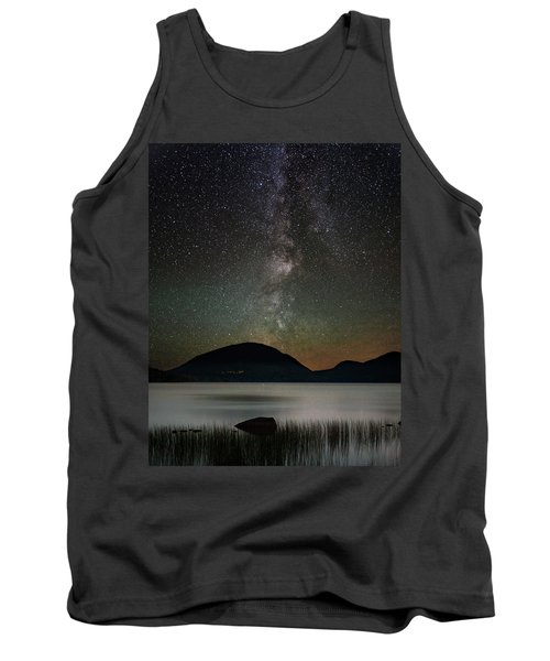 Eagle Lake And The Milky Way Tank Top