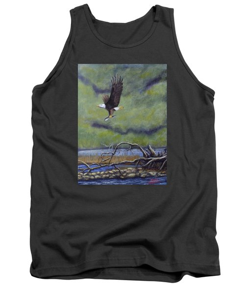 Eagle River Tank Top by Dan Wagner