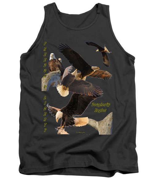 Eagle T-shirt Tank Top by Bonfire Photography