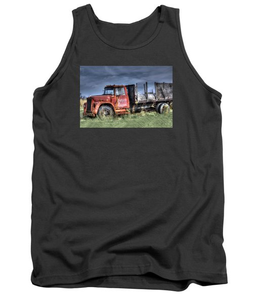 Tank Top featuring the photograph Earl Latsha Lumber Company Version 2  by Shelley Neff