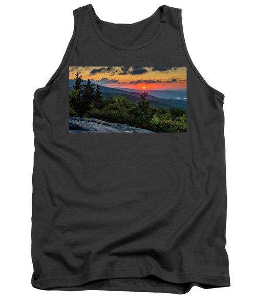 Blue Ridge Parkway Sunrise - Beacon Heights - North Carolina Tank Top