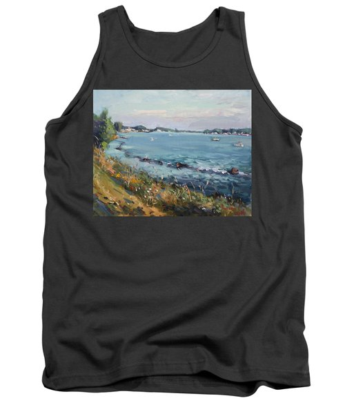 Early Evening At Gratwick Waterfront Park Tank Top