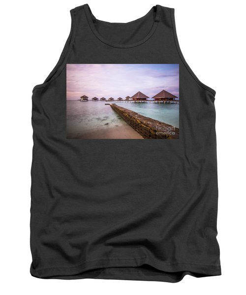 Tank Top featuring the photograph Early In The Morning by Hannes Cmarits