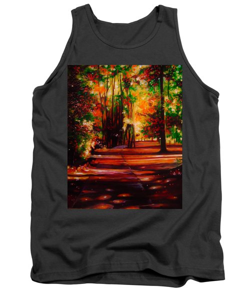 Tank Top featuring the painting Early Monday Morning by Emery Franklin