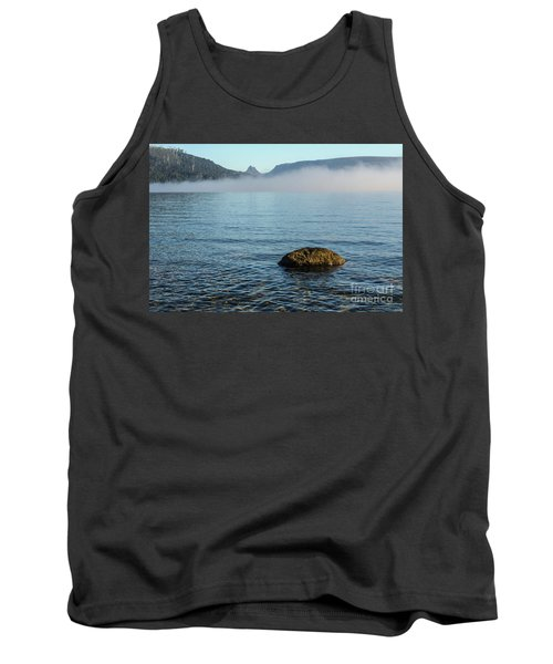 Tank Top featuring the photograph Early Morning At Lake St Clair by Werner Padarin
