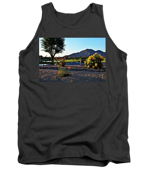 Early Morning At The Dunes Golf Course - La Quinta Tank Top