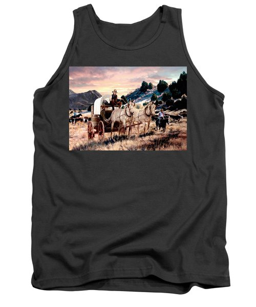 Early Morning Drive Tank Top by Ron Chambers