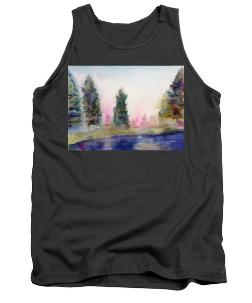 Early Morning Forest Tank Top
