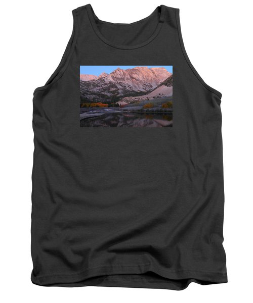 Early Morning Light At North Lake In The Eastern Sierras During Autumn Tank Top