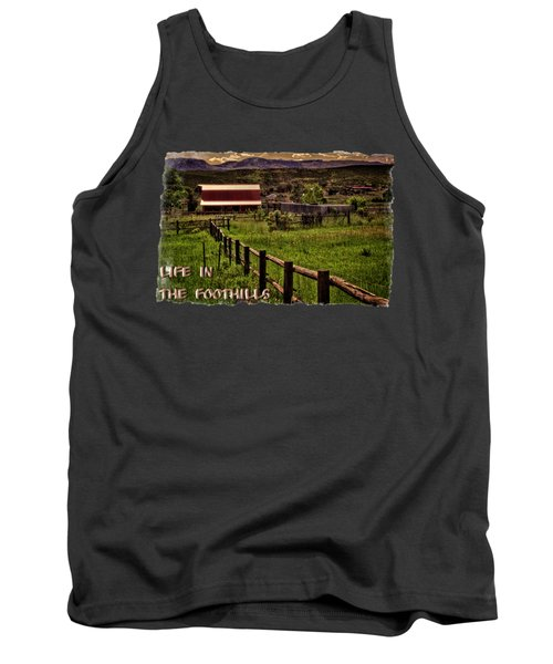 Early Morning Pastures In The Foothills Tank Top