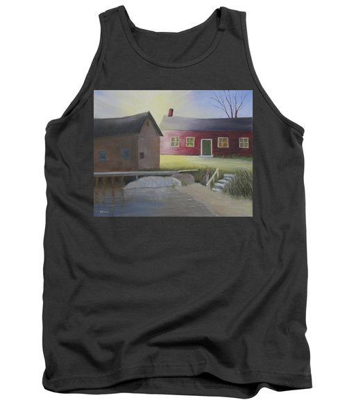 Early Morning Sun At The Shop Tank Top