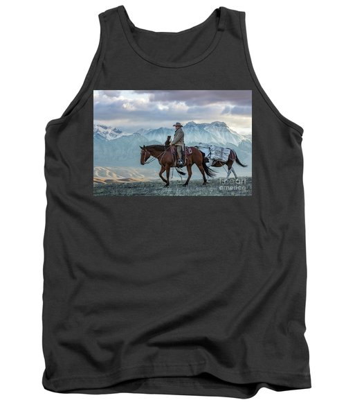 Early October Hunt Wild West Photography Art By Kaylyn Franks Tank Top