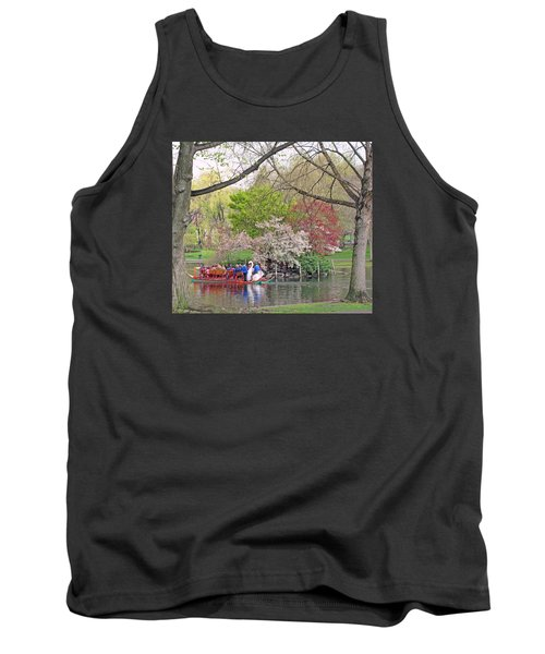 Early Spring Boston Tank Top by Barbara McDevitt