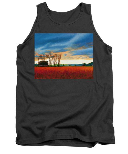 Early Spring, Skagit Valley Tank Top